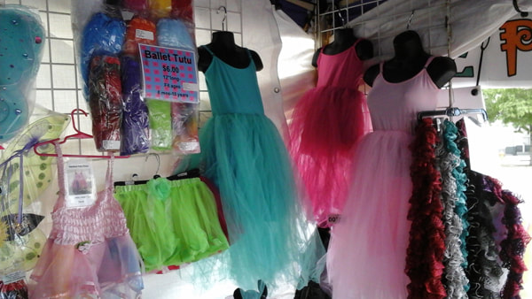 all about fairies booth